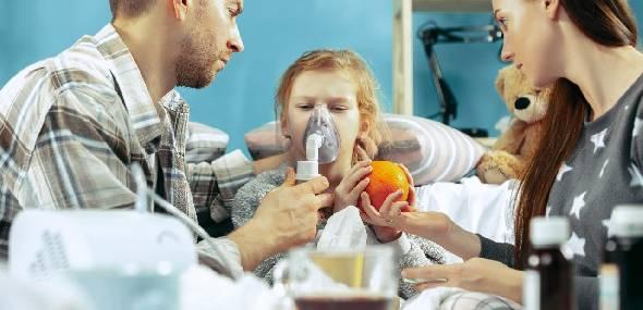 As principais doenças respiratórias em crianças