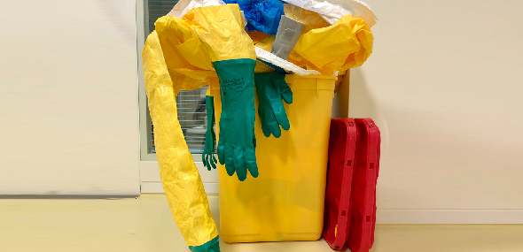 Descarte inadequado do lixo hospitalar causa contaminações e danos ao meio ambiente